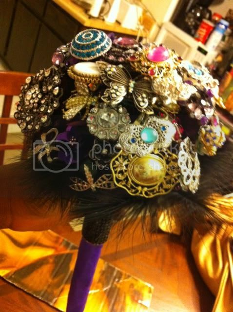 DIY Brooch Bouquet photo 2
