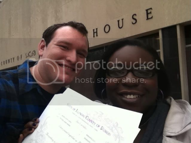 Marriage License photo 1